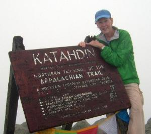 Trapper Lee on Katahdin
